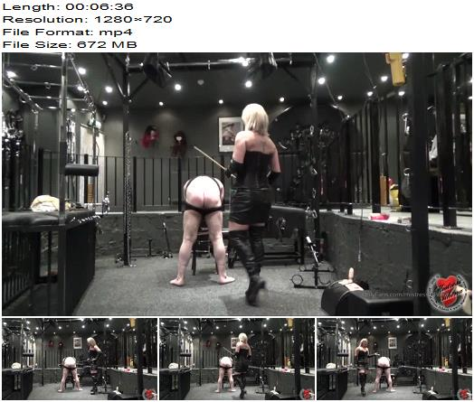 Mistress Athena Yielding A Stick Then Watch In Awe preview