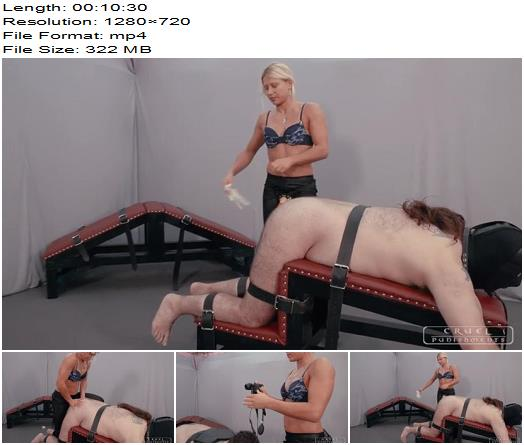 Moaning from pain of Cruel Punishments studio preview