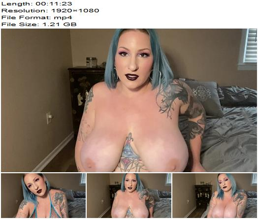 Scarlet Ellie  Proud goth mom Edges and Jerks Me JOI preview