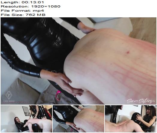Sin Sisters  Lady Perse  Pegging and strappon blowjob with Mistress Mavka  Strapon preview