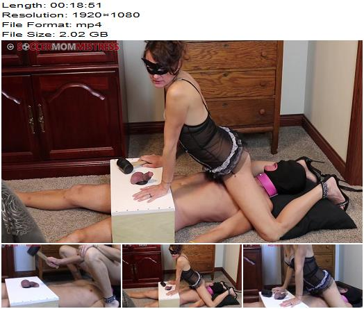 Soccer StepMom Mistress  Cock Box Smother Rubber Mallet Oxygen Deprivation  Ball Abuse preview