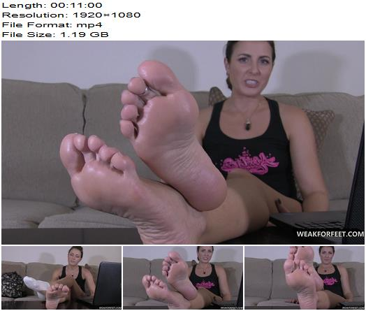 Weak For Feet  Helena catches you staring at her feet  Footjob Trampling Footworship Shoejob preview