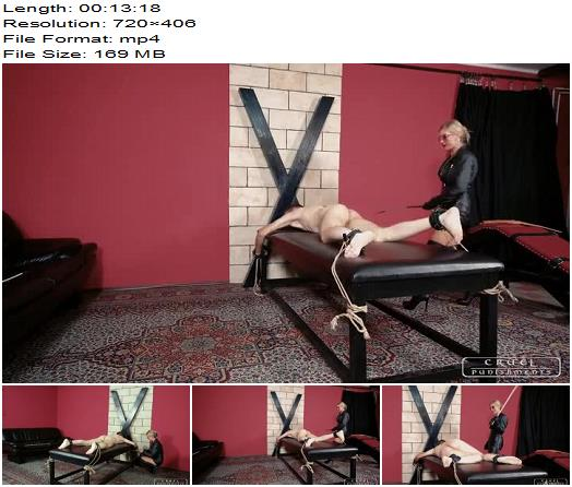 Cruel Punishments  Brutal Mistress Bloodymary  Whipping and Caning preview