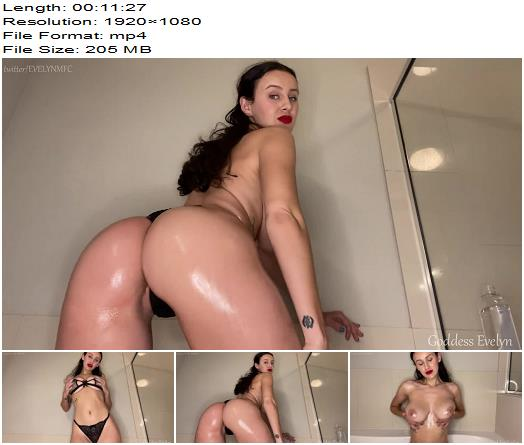 Goddess Evelyn  Oily Tits Own You preview