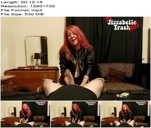 Jizzabelle Trash Smoking Femdom CBT preview