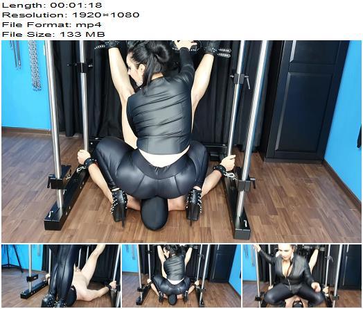 Mistress Ezada Sinn SMOTHERED UNDER A ROUND BIG SPANDEXCLAD MILF ASS preview