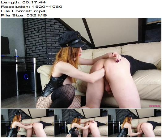 Mistress Fisted her Neighbors Asshole and he Cumed a Lot from Destroying his Ass preview