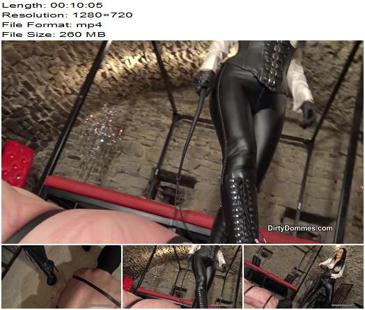DirtyDommes  Fetish Liza  Brutally whipped bootworm  Femdom preview