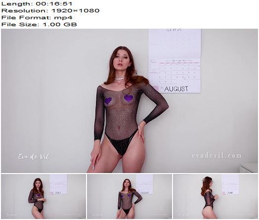 Eva de Vil  Summer Cum Schedule  Masturbation Instruction preview