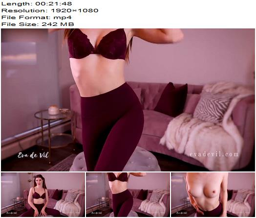 Eva de Vil  Totally Ruined Topless  Masturbation Instruction preview