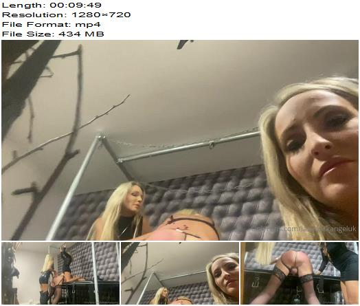 Fabulous In Session Recording Of 10 Mins Double Domme  Sissy preview