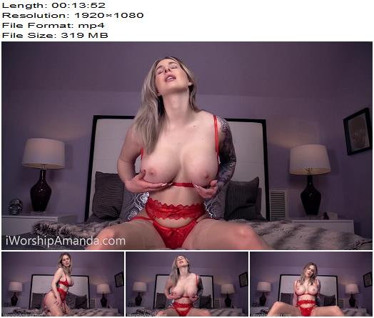 Goddess Amanda  Mesmerized by Red topless preview