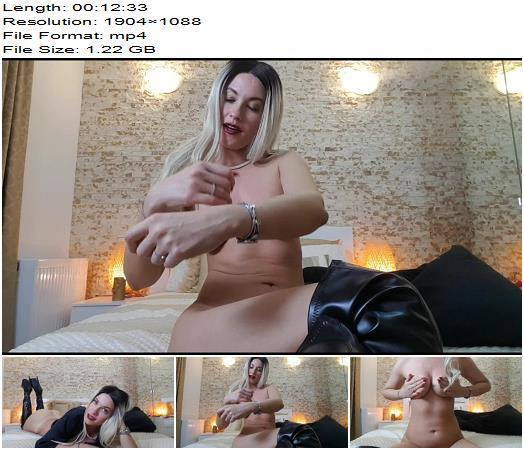 Goddess Natalie  Do not cum  extreme JOI challenge  Femdom POV preview
