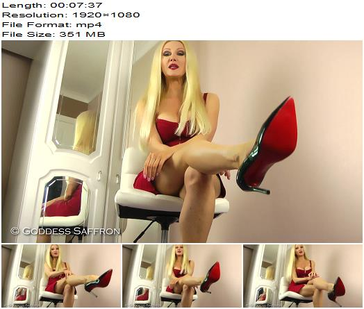 Goddess Saffron  Suffer Beautifully For Me  Blackmail  Findom preview