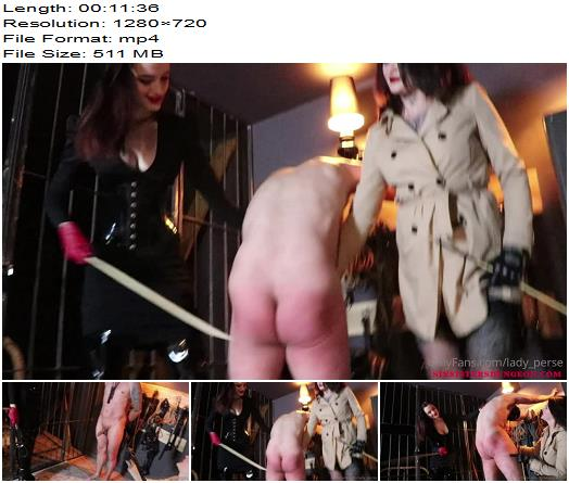 Lady Perse  Whipping With Melisande Sin preview