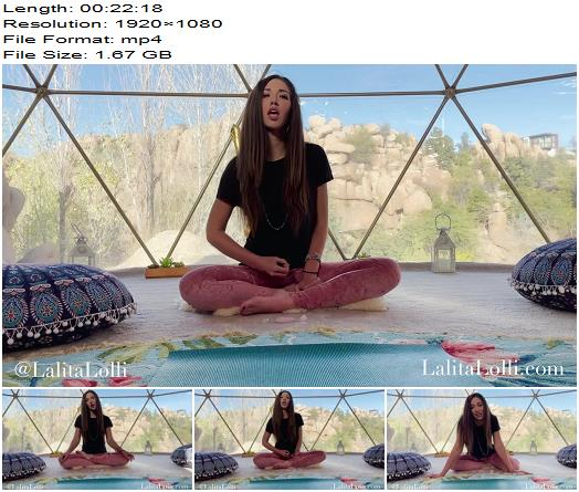 Lalita Lolli  Eat It for Yoga Teacher  Blackmail  Findom preview