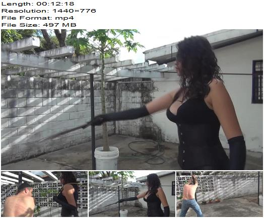 Latin Beauties in High Heels  Bullwhip Therapy by Kalinda  Whipping and Caning preview