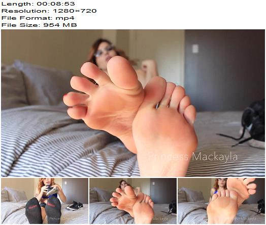 Mackayla Sinpire  Post Workout Foot Bitch  Foot Fetish preview