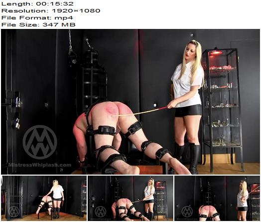 Mistress Nikki Whiplash  Judicial CP  60 with the cane 60 with the paddle  WL1492  Femdom preview