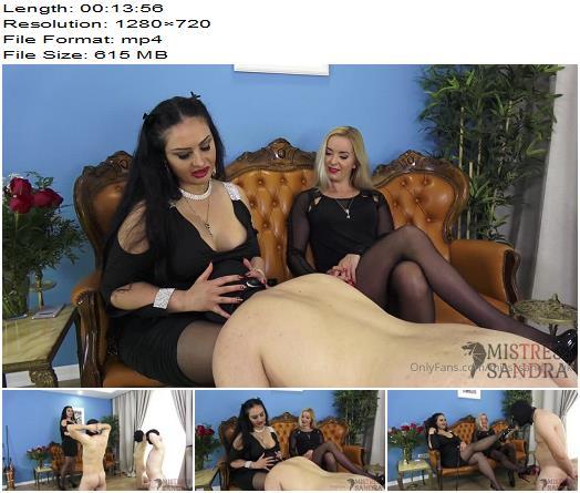 Mistress Sandra  Ezada Sinn  Training the new boy  Femdom preview