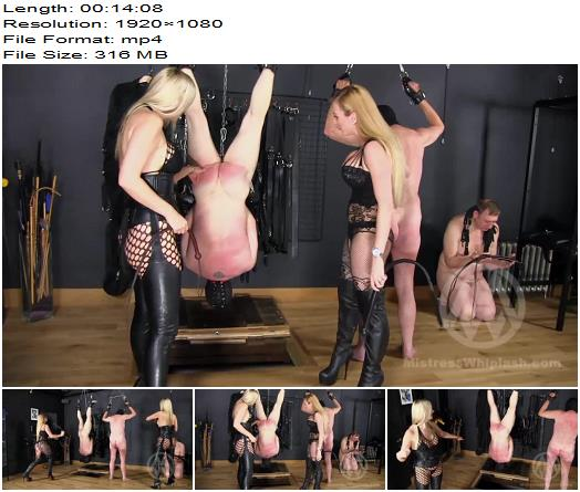 Mistress Whiplash  Sadistic Double Whipping preview