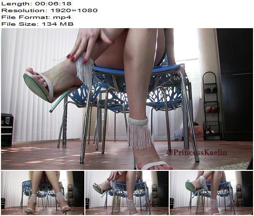 Princess Kaelin  Cum Then Lick My Heels  Cei preview