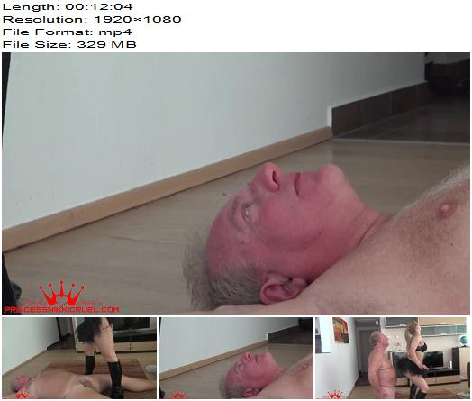 Princess Nikki Cruel  Tease and pain second cam part 1  Ball Abuse preview