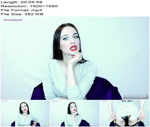 Princess from Hell  150 seconds wank  Oral Servitude preview