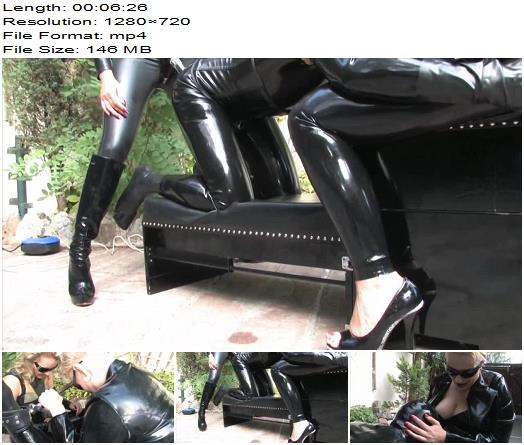 SadoLadies  Lady Pascal Madame Charlotte  The Rubber Toy 3  Outdoors preview