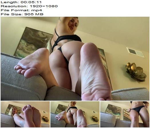SorceressBebe  Quicky Foot Bitch Drain  Blackmail  Findom preview