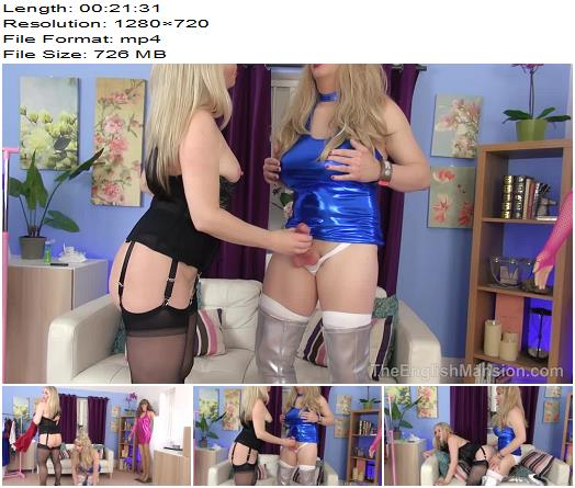 The English Mansion  Beta To Bimbo  Complete Movie   Tiffany Real Doll and Mistress Sidonia preview