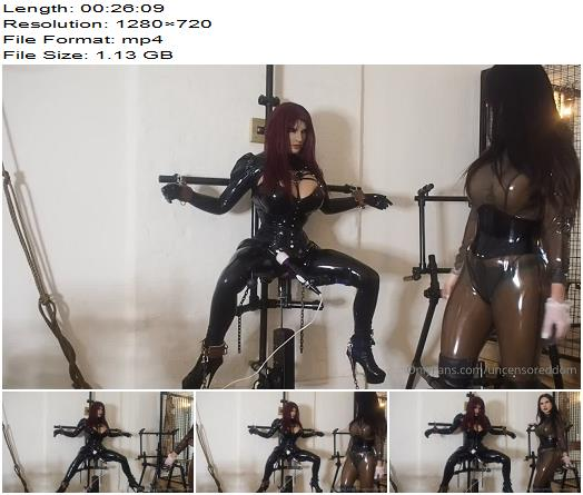 UncensoredDom  Rubber Doll Evelyndoll Gets Captured  Sissy preview