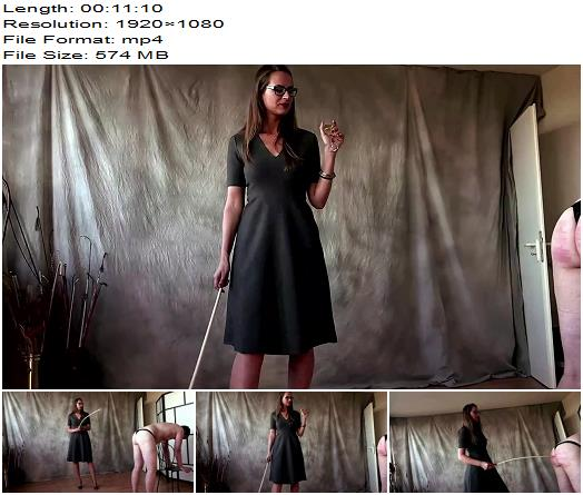 A Very Hard Caning  Femdom preview