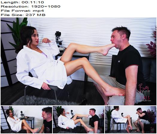 Bratty Foot Girls  Ama  Curing your Gag reflex  Foot Worship preview