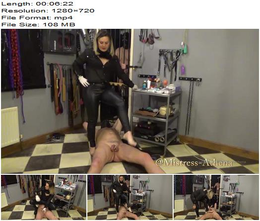 Devilish Domination  Mistress Athena  Miss Powers owns your balls  Ball Abuse preview