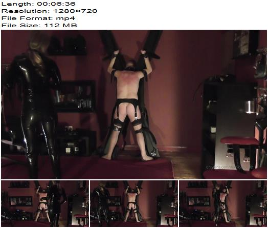 Domina Scarlet  Whip Him Until He Cries  Whipping and Caning preview