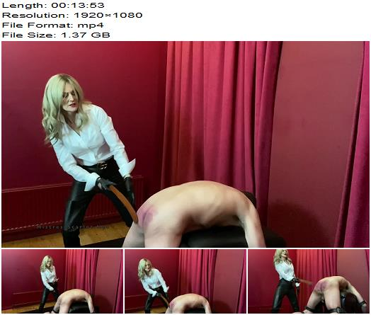Domina Scarlet  You Will Suffer For My Pleasure Pt1 Strapping preview