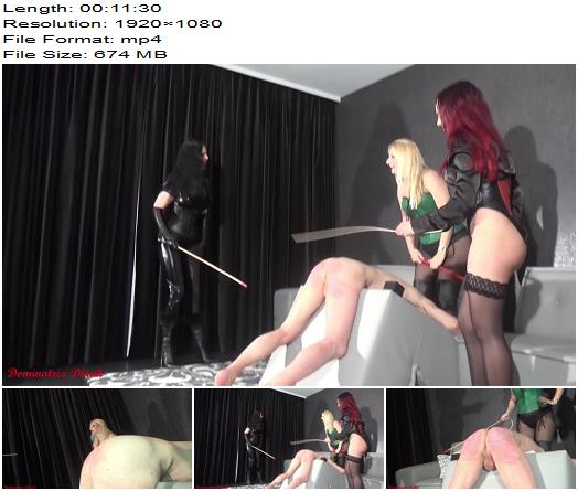 Dominatrix Dinah  Personal  3 Dommes and 3 Canes  full  Femdom preview