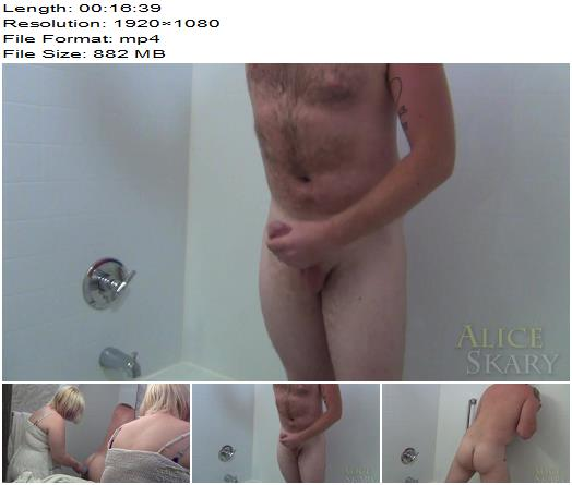 Goddess Alice Skary  Femdom Delivers Merciless Anal Douche Until Asshole Prolapse  BBW Domination preview
