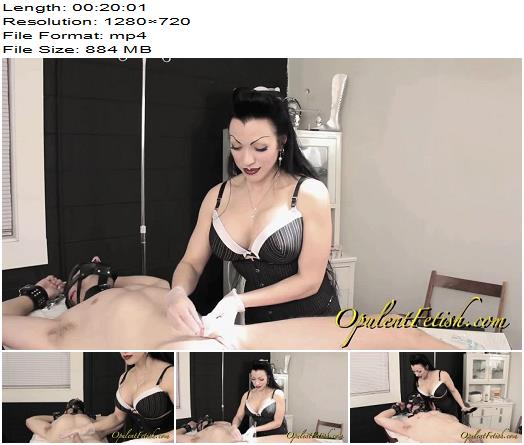 Goddess Cheyenne  Opulent Fetish  Prescription Strength cock Control  Electric Play preview