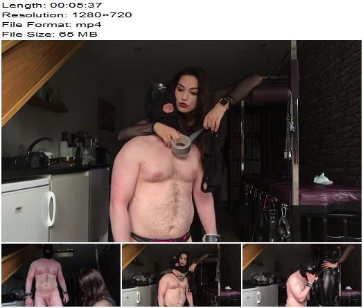 Goddess Gynarchy  Goddess Serena  Slave Strapon Sucking  Oral Servitude preview