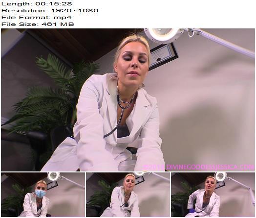 Goddess Jessica  Dr Jessica Slave Urologist  Anal Training preview