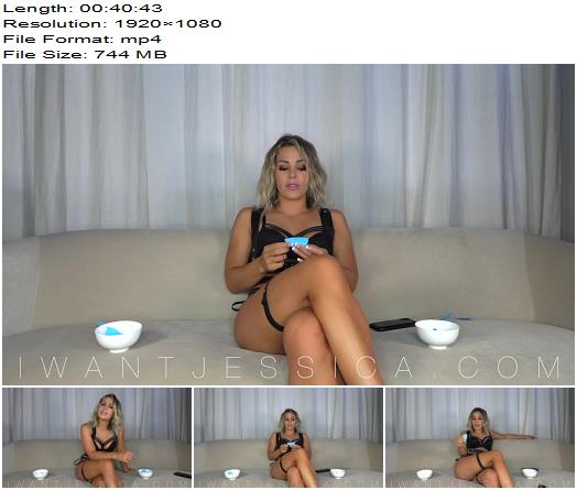 Goddess Jessica  Humiliating CBT Jerk Off Game  Cbt preview
