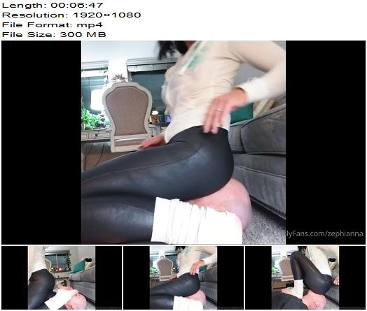 Goddess Zephy  Breath Control Like The Smell Of My Ass Through My Pants Loser  Femdom preview