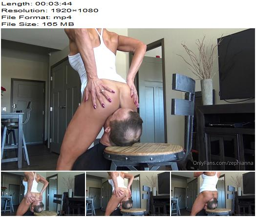 Goddess Zephy  Fucking OWNED by goddess ass preview