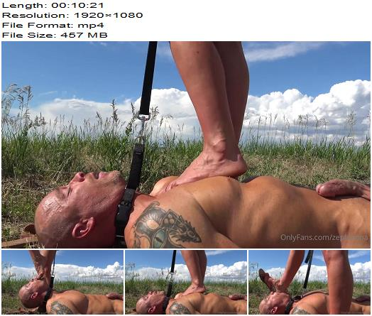 Goddess Zephy  My Stupid Doggy Slave  Foot Worship preview