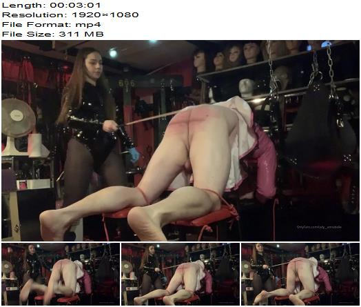 Lady Annabelle  Such A Lovely Christmas Present My Sub Got Today  Whipping and Caning preview
