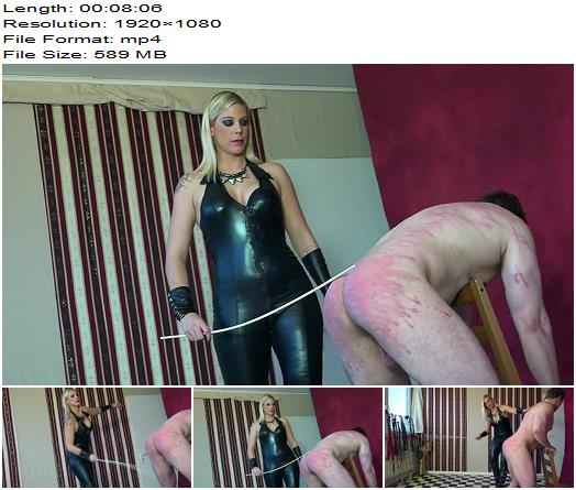 Lady Aurora  A Merciless Caning  Femdom preview