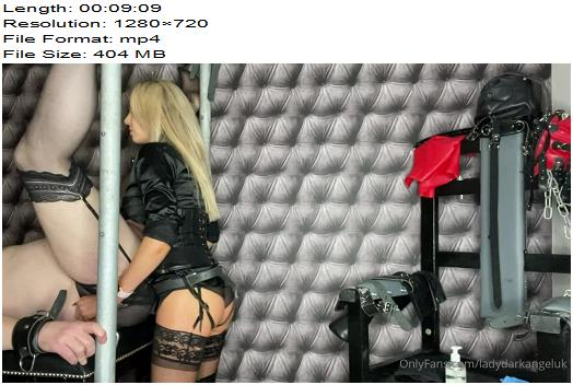 Lady Dark Angel UK  Strapon Fun black  Femdom preview
