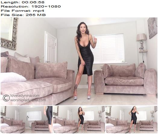Lady Nina  Taking my janitor bitch home  Femdom Pov preview